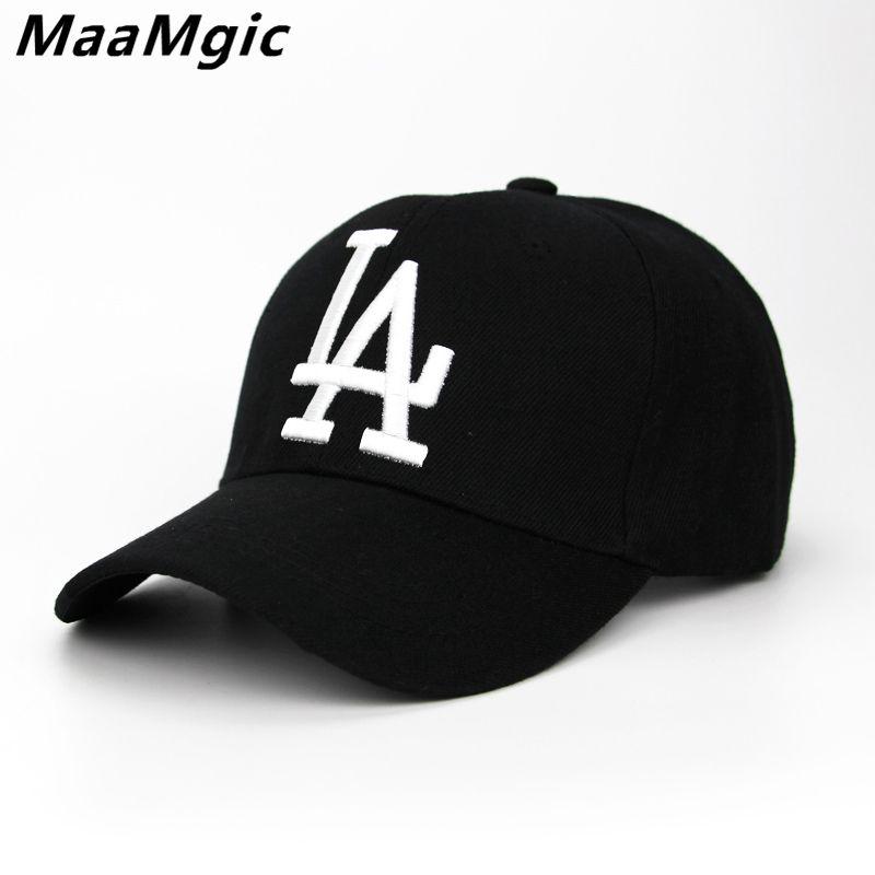 062daaf840051 comprar 2018 nueva carta gorras de béisbol Dodgers bordado hip hop hueso  SnapBack sombreros para hombres mujeres ajustable gorras casquette unisex