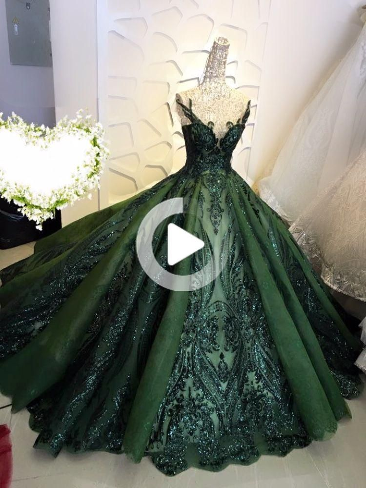 Sequin sparkly off the shoulder ball gown wedding/prom dress - various #fitness #fitnessmotivation