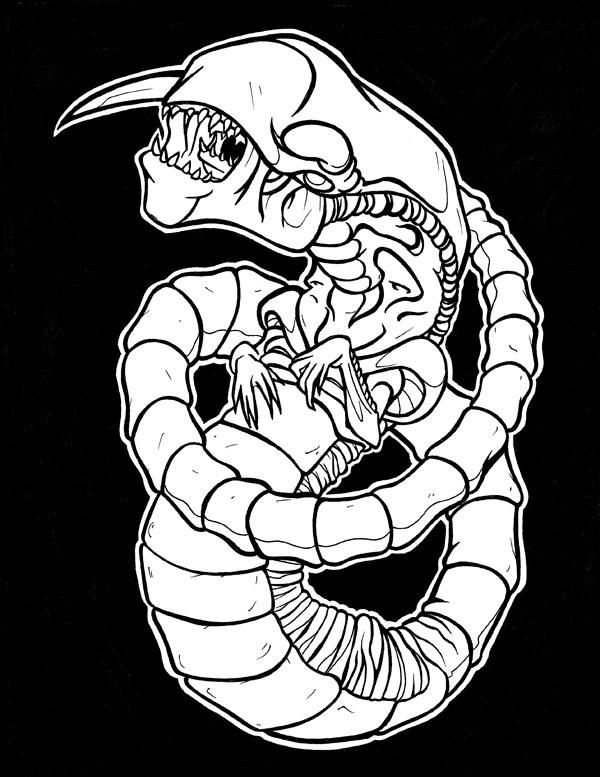 Alien Chestburster By Tyrant 1 On Deviantart Xenomorph Alien