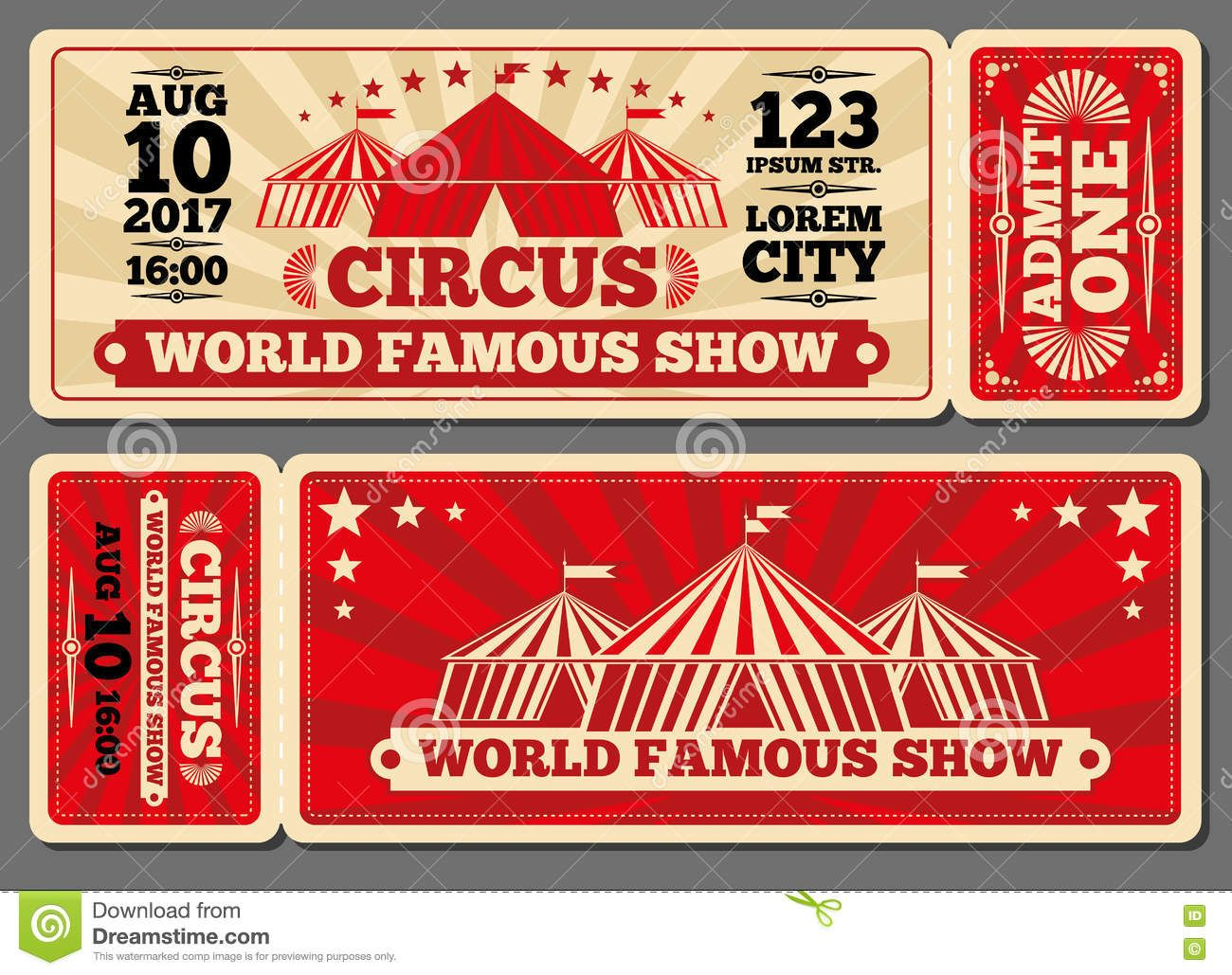 Circus magic show entrance vector tickets templates download from circus magic show entrance vector tickets templates download from over 65 million high quality stock photos images vectors sign up for free today maxwellsz