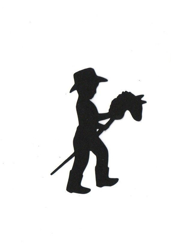 baby cowboy silhouette - Google Search | texas baby shower ...