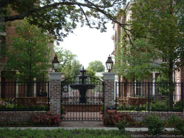 The Brownstones A Neighborhood Development In Franklin