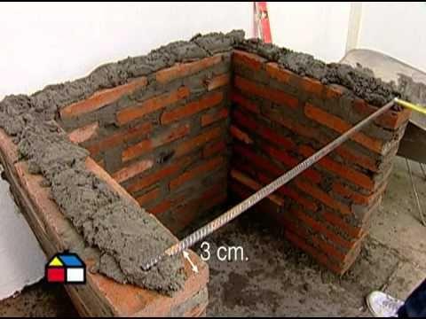 C mo construir un quincho de ladrillos spanish - Ladrillos para barbacoa ...