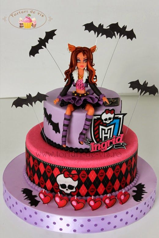 Awesome Monster High Clawdeen Wolf With Images Monster High Cakes Funny Birthday Cards Online Inifofree Goldxyz