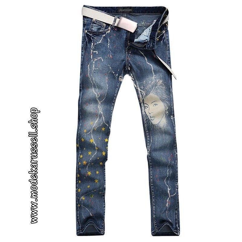 New Print Herren Jeans in Blau #menswear #herren #mode # ...