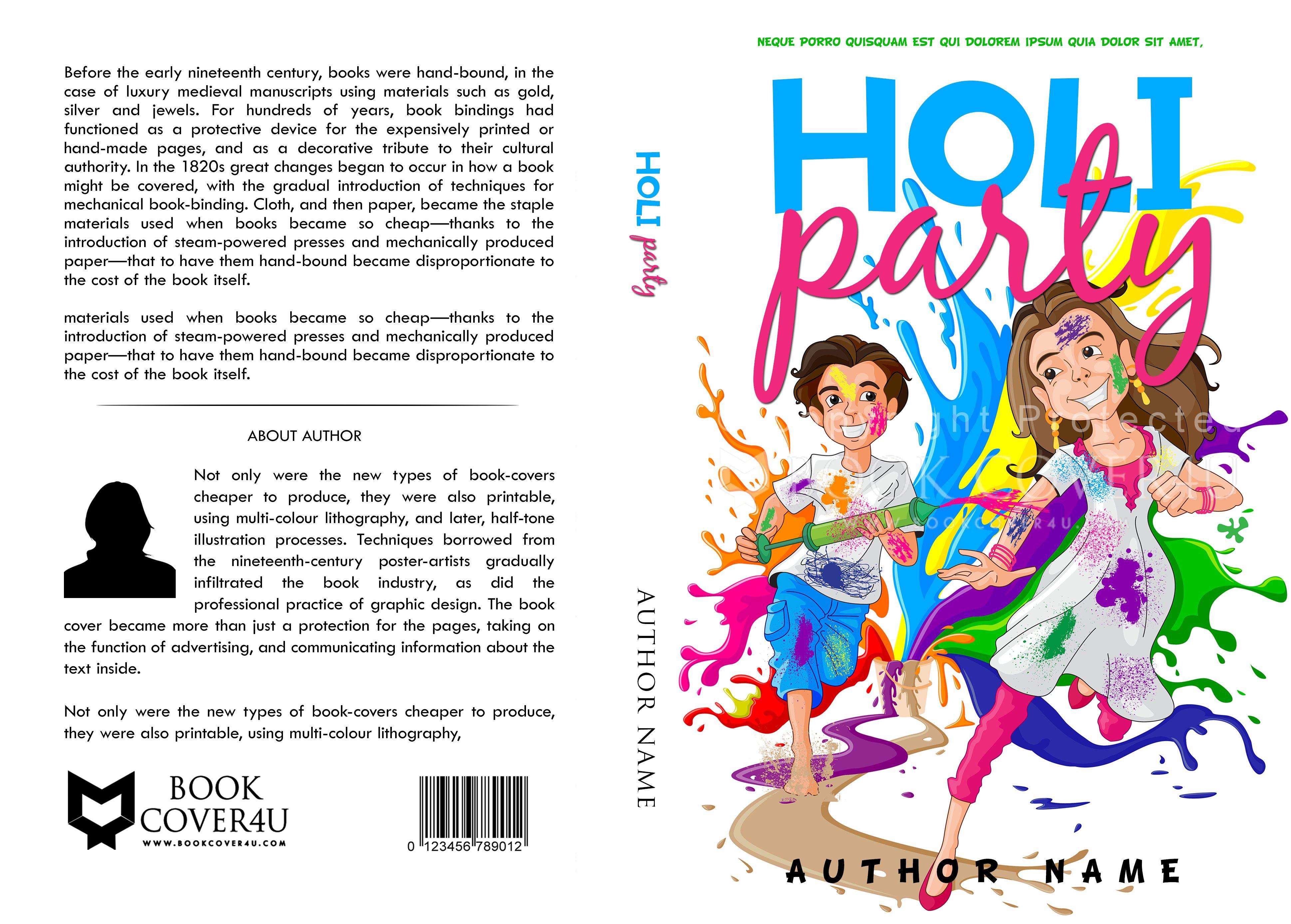Worksheet Cover Design For Kids