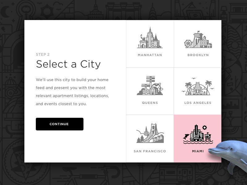 Region Select V3 3 The Selection Website Design Design