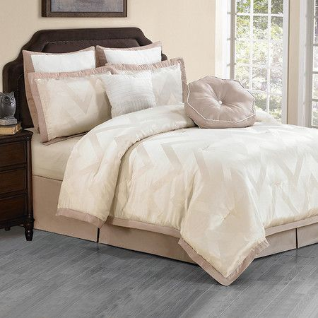 Catherine King Comforter Set in Champagne at Joss & Main