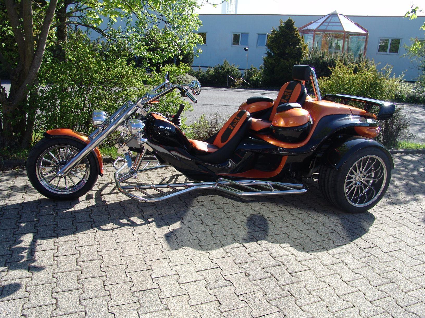 Foto Vorhanden Trike Motorcycle Trike Motorcycle