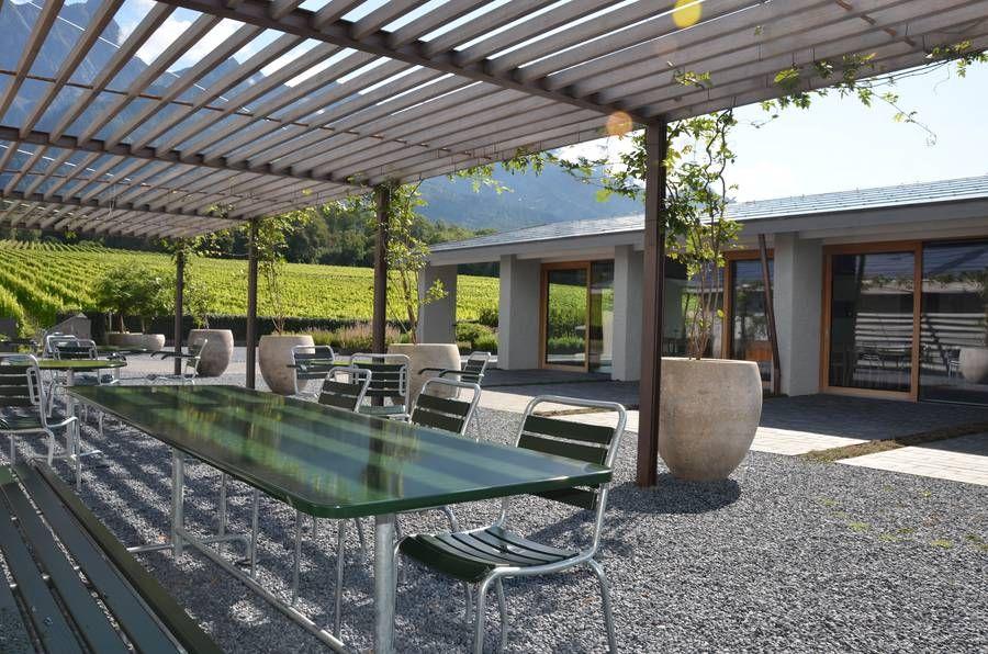 Weingut davaz wine architecture switzerland wine - Gartenbau beschattet ...