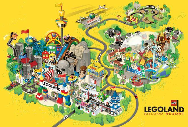 June 7 1968 Legoland Opens In Denmark Wanderlust Denmark