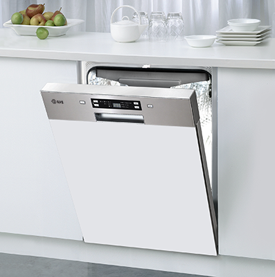Ilve Ivsix6 Semi Integrated Dishwasher Kjokken