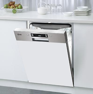 Ilve Ivsix6 Semi Integrated Dishwasher Kjokken