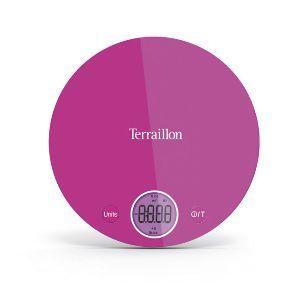 Terraillon Balance De Menage Electronique 4kg Rose Halo Colors