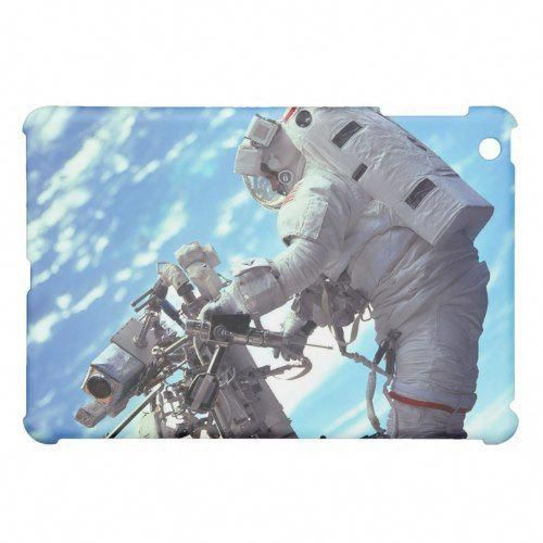 Working In Space - Incredible Earth In Background iPad Mini Case | Zazzle.com