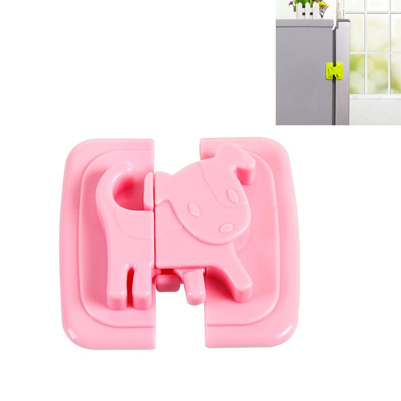 6pcs bebé niño Kids armario de seguridad Puerta Cajones Armario Nevera Lock
