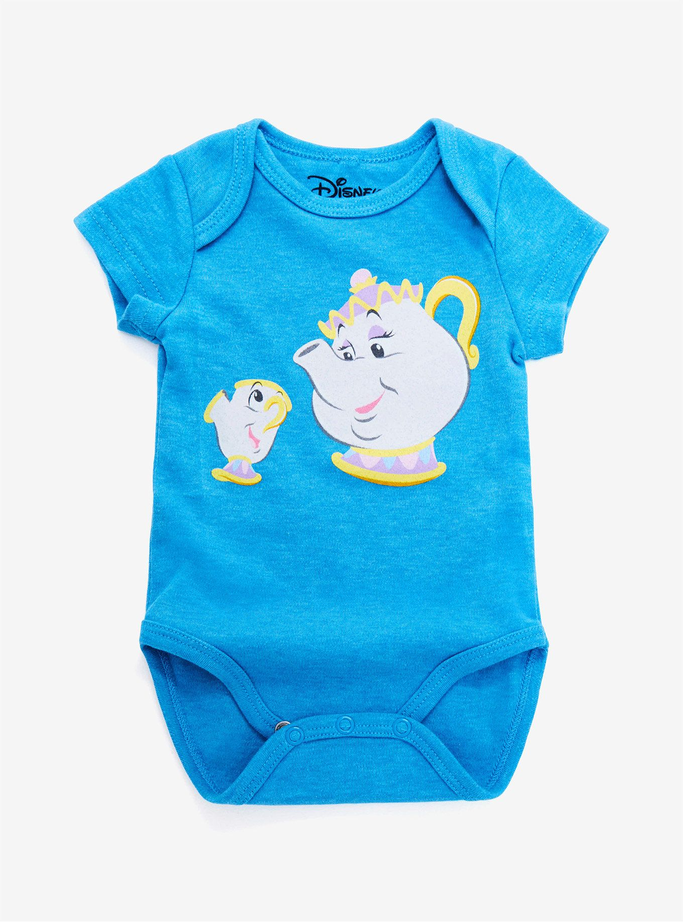 Disney Beauty And The Beast Mrs Potts And Chip Baby Bodysuit