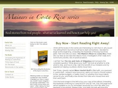 The Mainers Move to #Costa_Rica. Peek into our lives as we have the #idea to move, investigate it, then really do it. Some #funny_stories, lots...