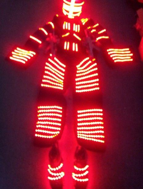 Stilts walker LED Clothing LED Light halloween costume Cosplay ...