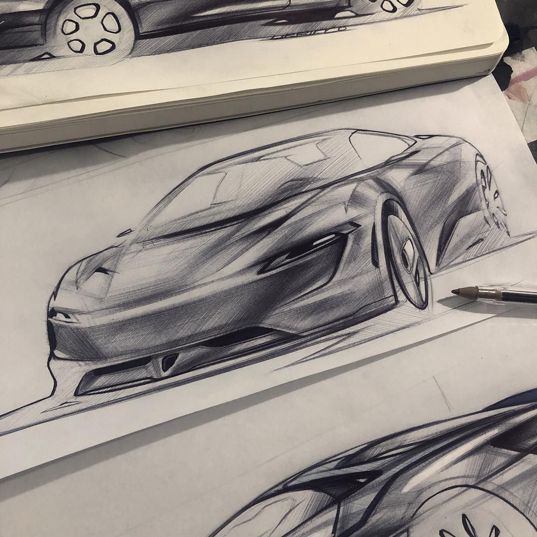 """D G M on Instagram: """"McLaren   Ballpoint   #automotivedesign #transportdesign #industrialdesign #design #cardesign #cardesigndaily #cardesignworld #cardesignru…"""""""