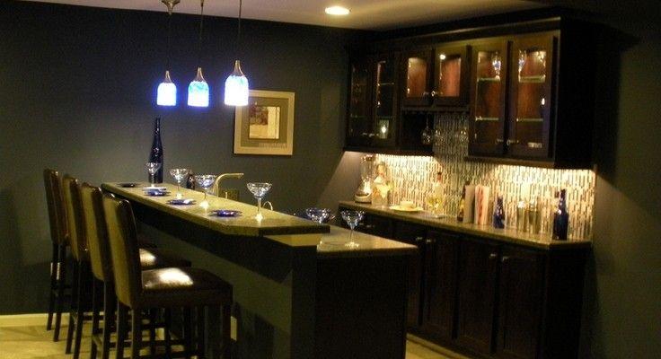 Top 12 Basement Bar Cabinet Ideas