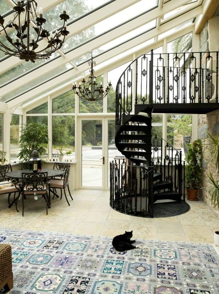 Superb Sun Rooms Examples 47 Pictures Sunroom Designs Roof Design Staircase
