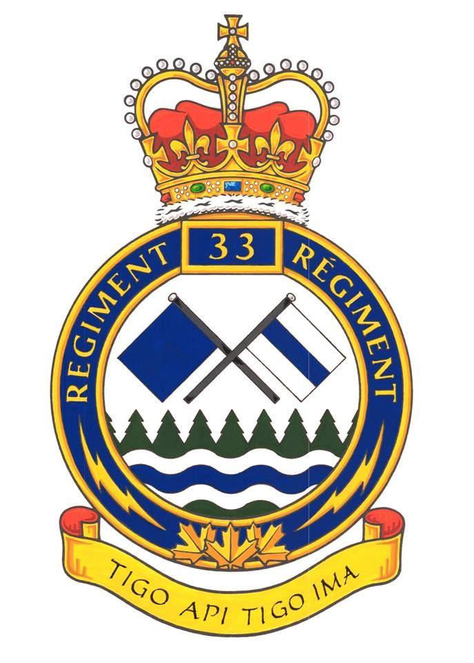 33 Signal Regiment Canada Wikipedia Canadian Army Pinterest