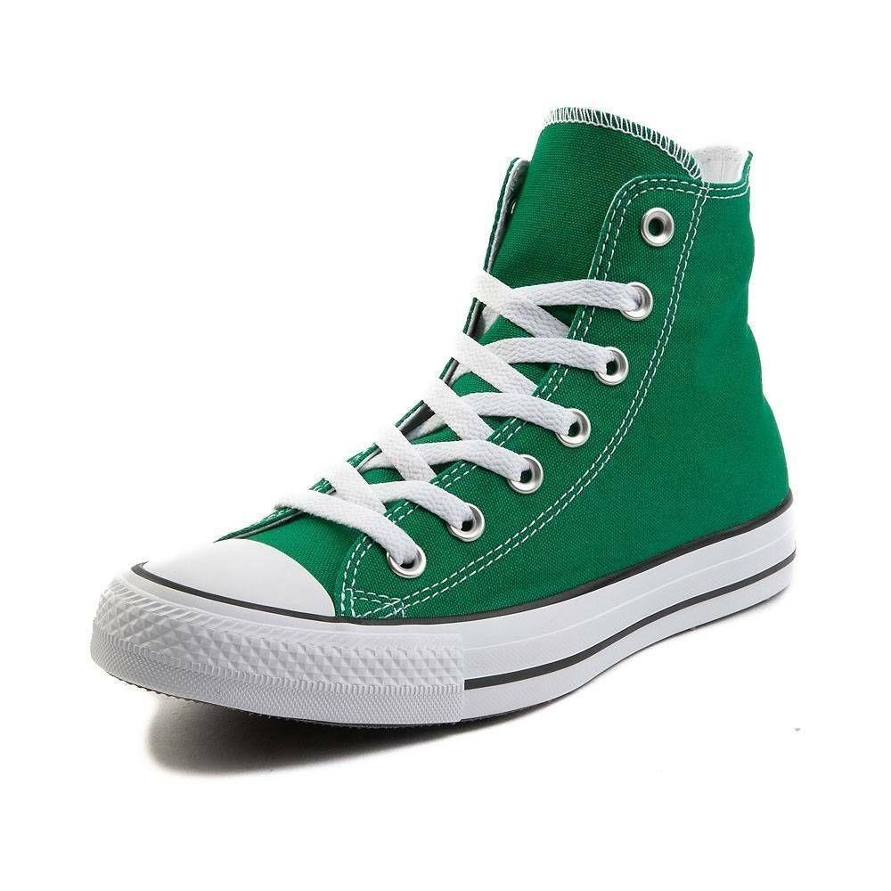 chaussures converse femme vert