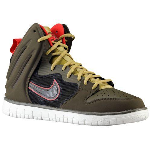 wholesale dealer 202f2 6f43a Nike Dunk Free - Men s - Basketball - Shoes - Dark Loden Black Parachute  Gold Silver