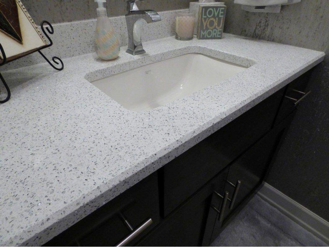 Sparkling White Quartz Countertops Inspirations With Pros And Cons White Quartz Countertop Gray Quartz