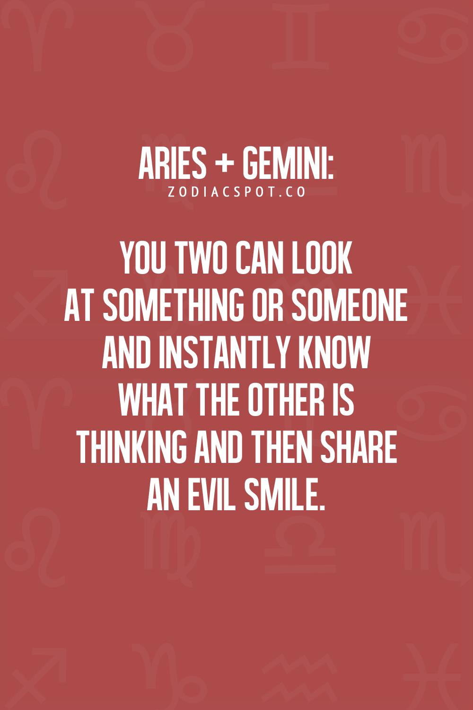 Zodiac signs aries and gemini  Aries and Gemini