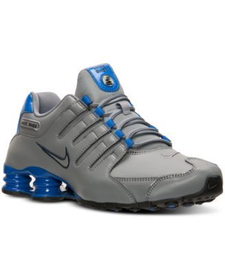 new concept 78f55 66299 Nike Men s Shox NZ Running Sneakers from Finish Line   macys.com