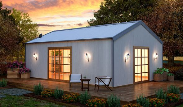 Metal Shed Homes lovely little metal building home w cosy interior 8 hq pictures metal Shed Homes Qld How To Shed