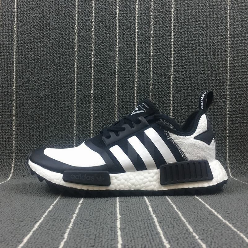 fde9e7090 Cheap Men White Mountaineering x Adidas NMD Trail White Black CG3646 ...