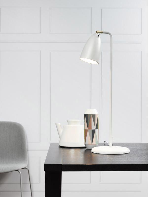 Lampe De Bureau Led Gu10 A Poser Blanc Nexus Nordlux Lampe De Bureau Led Lampe De Bureau Et Lampe De Table Blanche