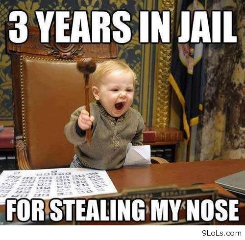 And I M Going Easy On You Funny Baby Pictures Funny Baby Memes Funny Babies