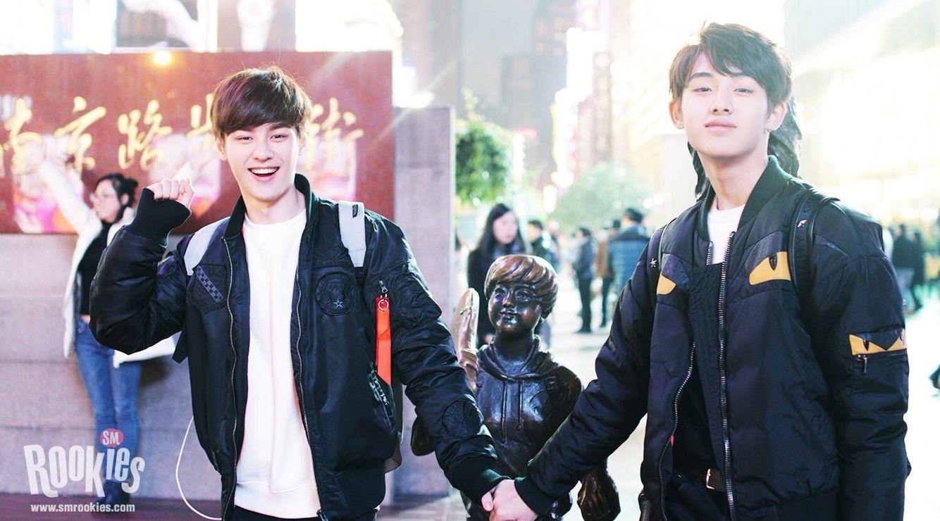 Kun and Winwin #SMROOKIES