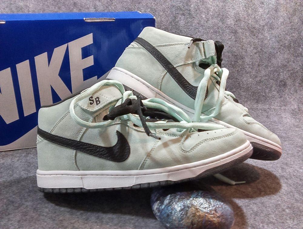 11 Nike Dunk Mid Pro SB Ice Green Dark Charcoal 314383 301 Skateboarding   Nike  Skateboarding c81da2a48