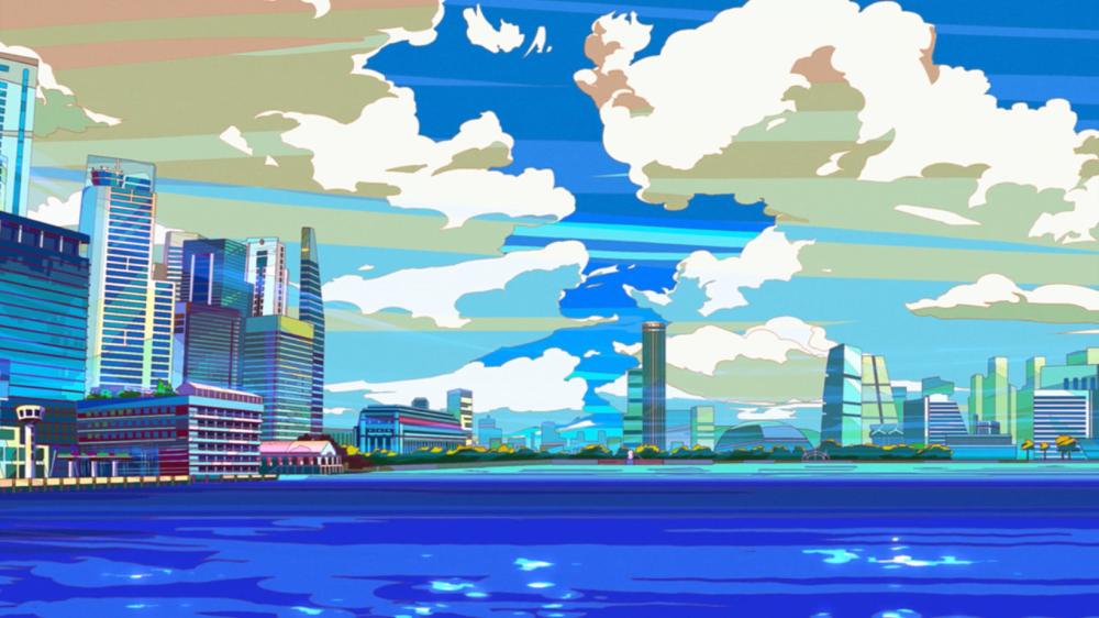 great pretender anime background artist - Google Search | Anime background, Art, British artist