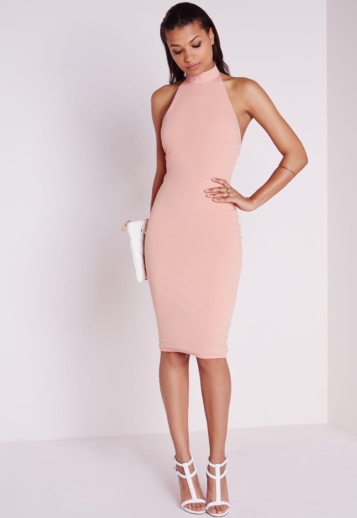 vestido midi, cor de flamingo | Moda | Pinterest | Vestidos midi ...