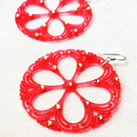 Hey, I found this really awesome Etsy listing at https://www.etsy.com/listing/295346465/vintage-watermelon-lucite-earrings-with