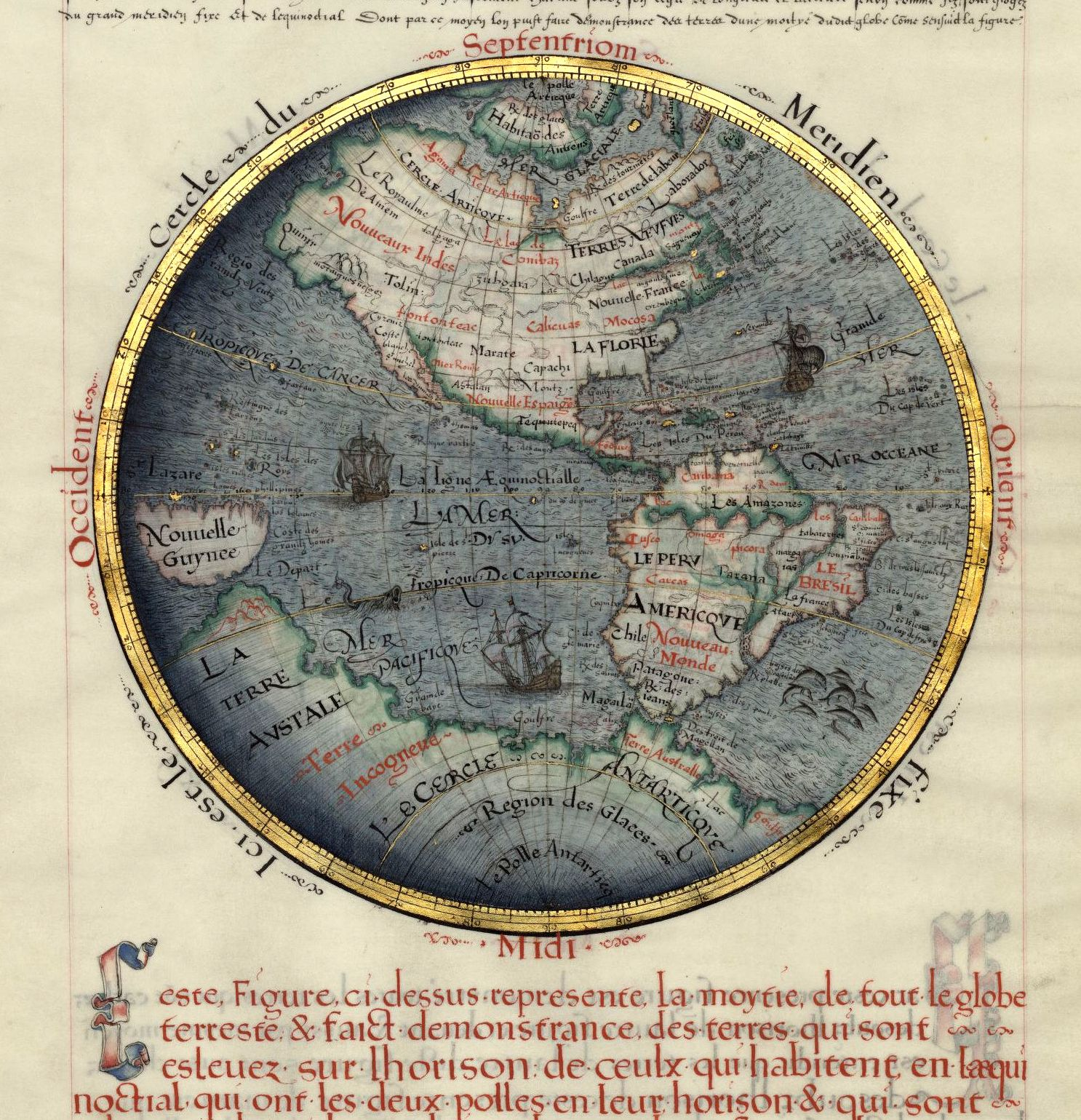 New world map ancient maps pinterest mapas cartografa y paleo new world map gumiabroncs Images