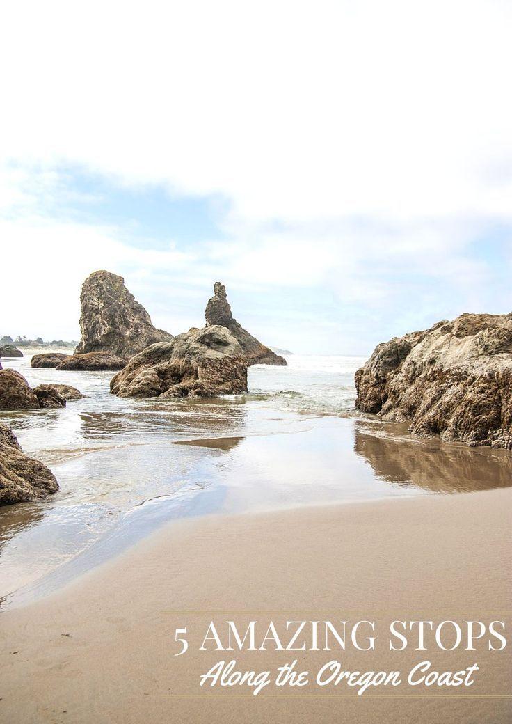 5 Amazing Stops Along the Oregon Coast - Sweetphi