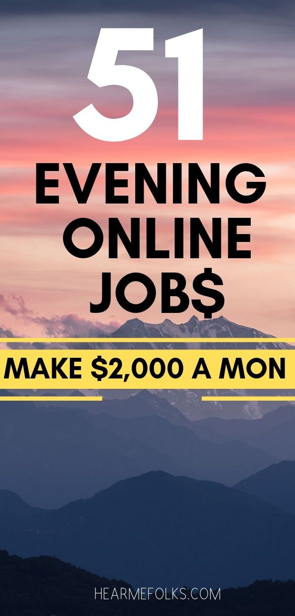 evening work from home jobs 51 best late night work from home jobs that pay often 7083