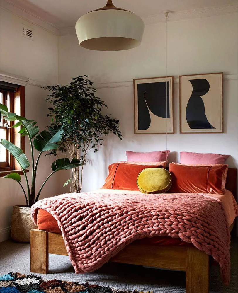 Coco Pendnat Light Stylish Bedroom Design Home Decor Artist Bedroom