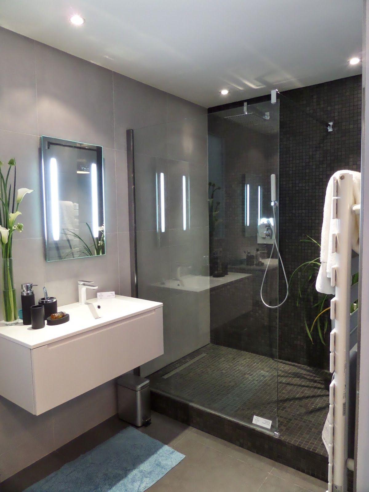 idee salle de bain petit espace meuble salle de bain  Baños para