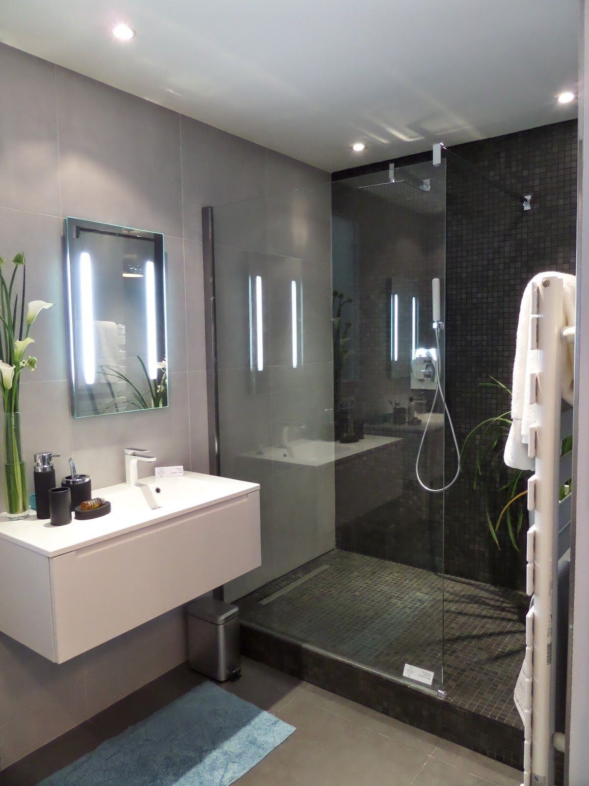 Espace Salle De Bain idee salle de bain petit espace meuble salle de bain
