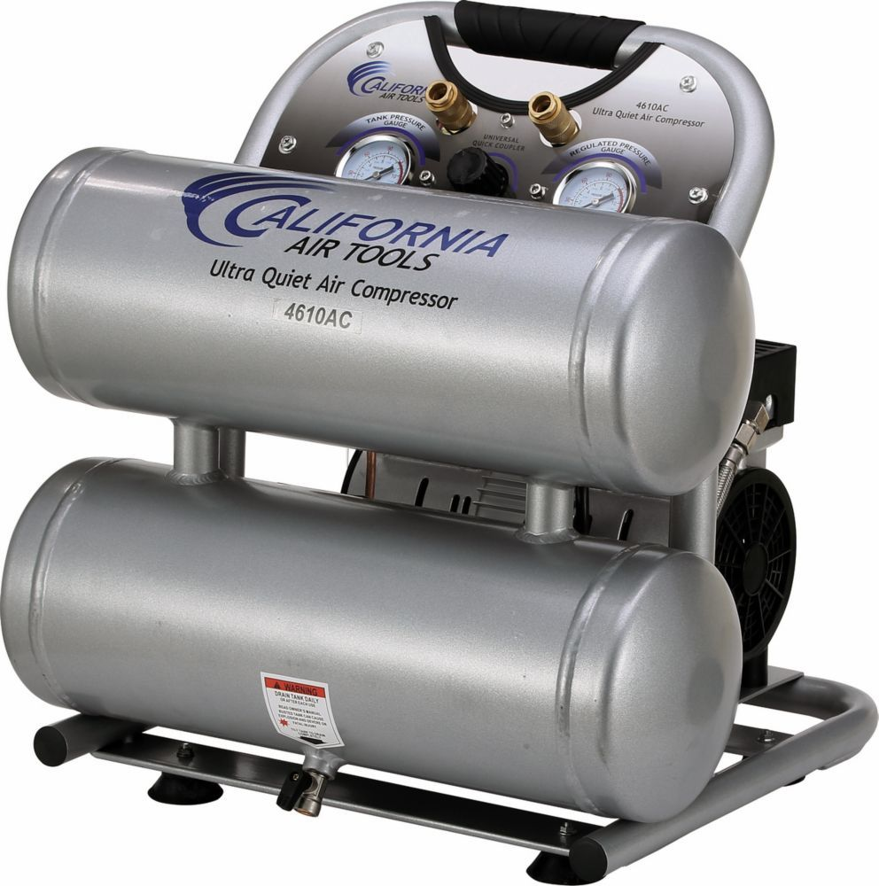 4610AC Ultra Quiet and OilFree 1.0 Hp, 17.4 L Aluminum