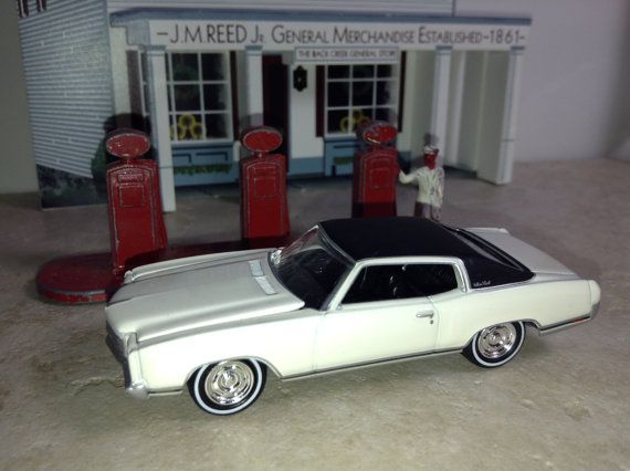 1970 S Chevrolet Monte Carlo Toy Diecast 1 64 Car Vintage Muscle