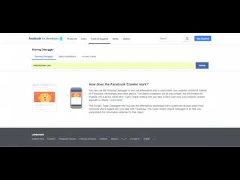 How to Unblock URL from Facebook - Website URL Blocked By Facebook